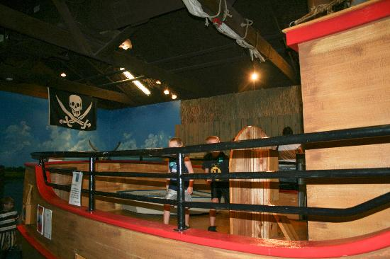 Children's Museum of the Lowcountry : Pirate ship at CML