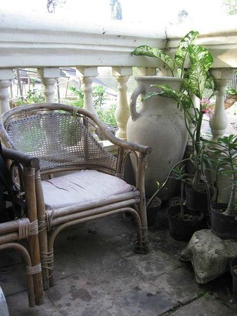 Lotus Guest House: just a corner of the porch