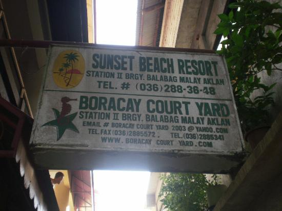Boracay Travelodge Beach Resort: The name, the hotel,,,