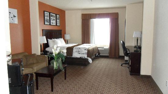 Sleep Inn & Suites Hwy 290 / NW Freeway: King Suite Room