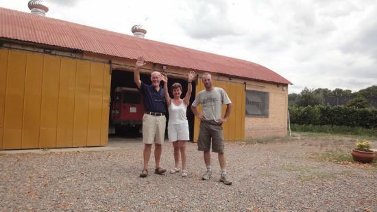 Posada Cavieres Wine Farm: Abschied