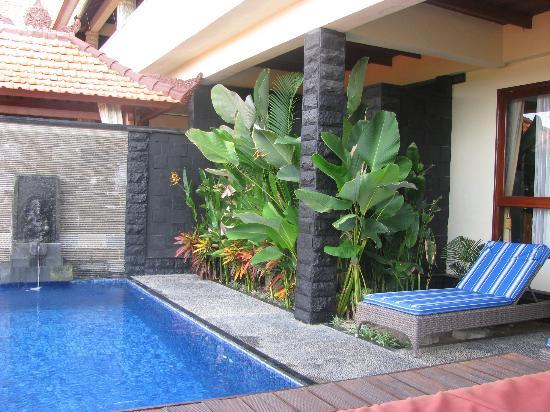 Jimbaran Cliffs Private Hotel & Spa: The lap pool just for me!