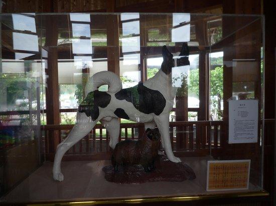 Michi-no-Eki Furari Tomiyama: 八犬伝