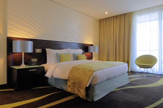 Radisson Blu Hotel, Abu Dhabi Yas Island : Typical room