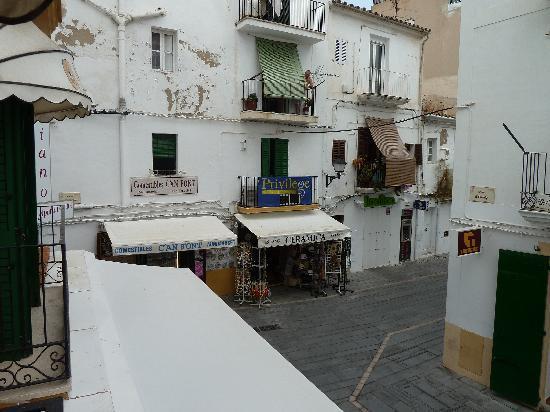 Mariano Apartamentos: vistas desde la ventana