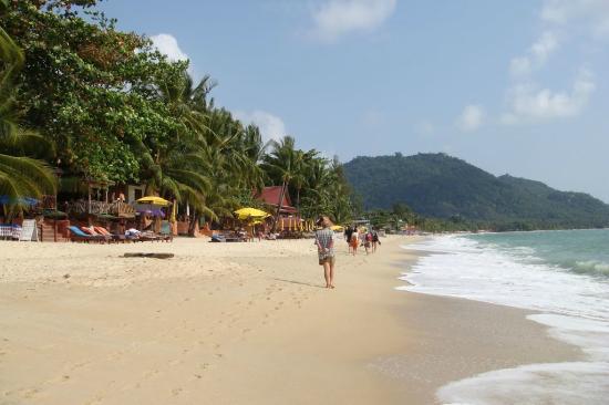 Golden Sand Beach Resort: Пляж Ламаи у отеля