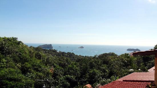 Hotel Villas El Parque: View from the terrace / room