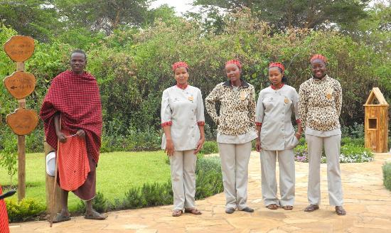 Neptune Ngorongoro Luxury Lodge : Crew