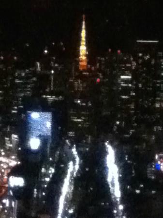 โรงแรมนิว โอตานิ โตเกียว เอ็กเซ็กคูทีฟ เฮ้าส์ เซ็น แอนด์ เดอะ เมน: 上層階のBARからの眺めです。