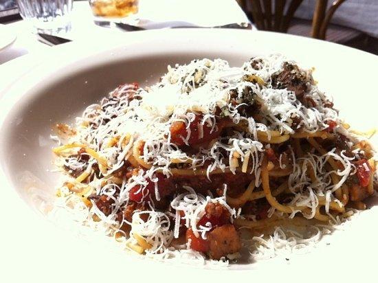 Alta's Rustler Lodge Dining Room : Spaghetti bolognaise