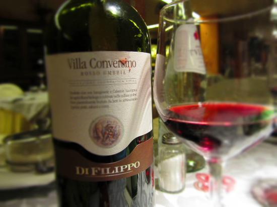 Hotel Colle della Trinita - BlueBay Perugia: Vino BIO