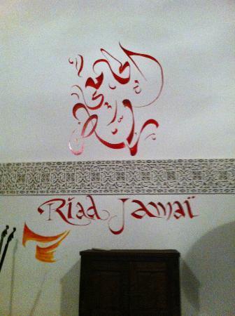 Riad Jamai: le nom du riad