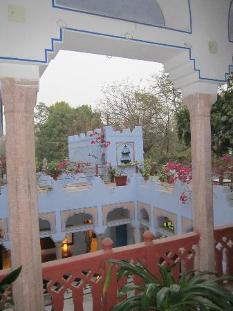 Diggi Palace: view from Room 208