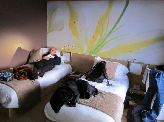 la Croix de Savoie : Deluxe twin room