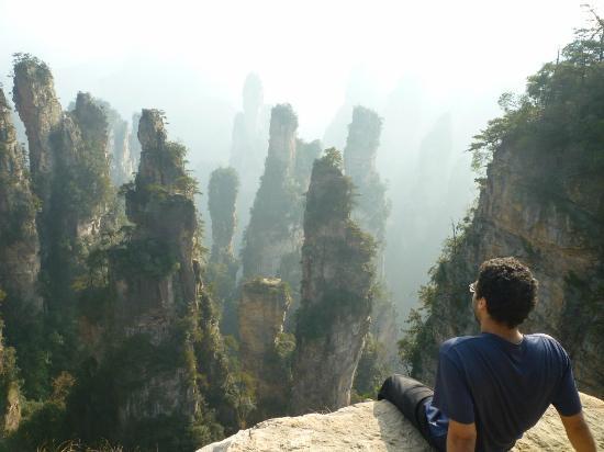 Fields in the Sky at ZJJ view - รูปถ่ายของ Zhangjiajie National ...