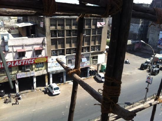 Hotel Siddhartha Inn : View from hotel room :-(