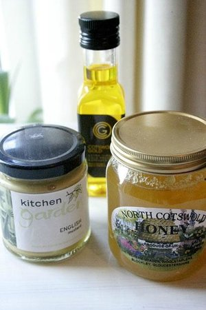 The Campden Pantry: English Mustard one of the lef. Out of date by long time ago.