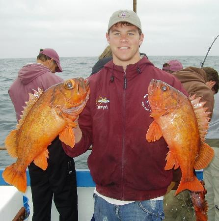 Red snapper on deep sea fishing trip picture of newport for Fish and trip