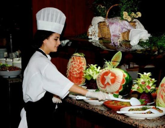 Garden Resort Bergamot Hotel: Restaurant