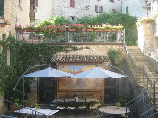 La Locanda del Capitano: Roof terrace