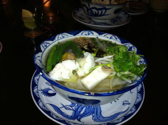 Rive Gauche: Large vegetable pho soup (dinner)