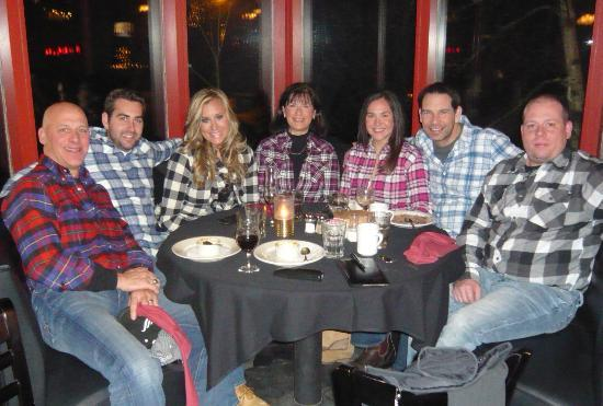 Terra Rossa Ristorante : Annual New Year's Eve Flannel Convention at the Terra Rossa