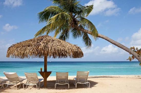 Caribbean Club Luxury Boutique Hotel: Caribbean Club Beach