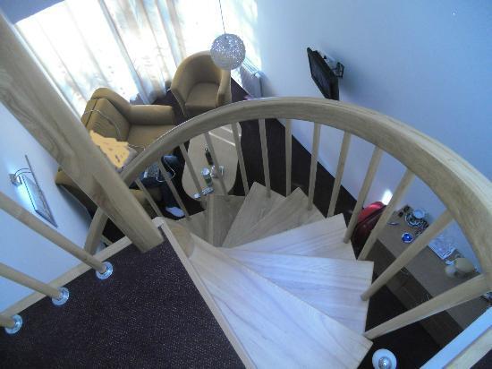 Palangos Juze: spiral staircase