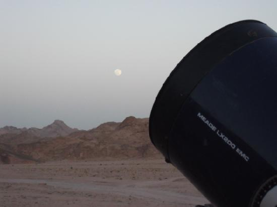 Space Vision Sharm: Looking at the Moonrise