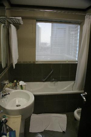 "TIME Oak Hotel & Suites: Bathroom with a ""view"""