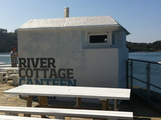 River Cottage Canteen & Deli: Perfect setting