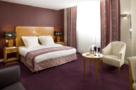 Hotel Les Jardins du Marais: Executive room