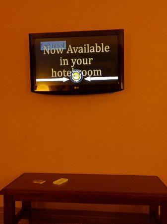 Sheraton Rockville Hotel : tv