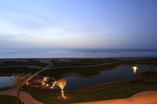 Mazagan Beach & Golf Resort : sunset Ocean Mazagan beach resort
