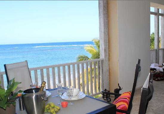 Beach Palace Cabarete: Best View of Cabarete - from the 3rd floor Luxury Beachfront Condos