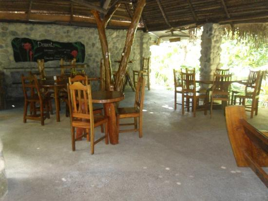 Omega Tours Eco Jungle Lodge: Dining area