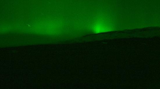 Hotel Gullfoss : Northern lights