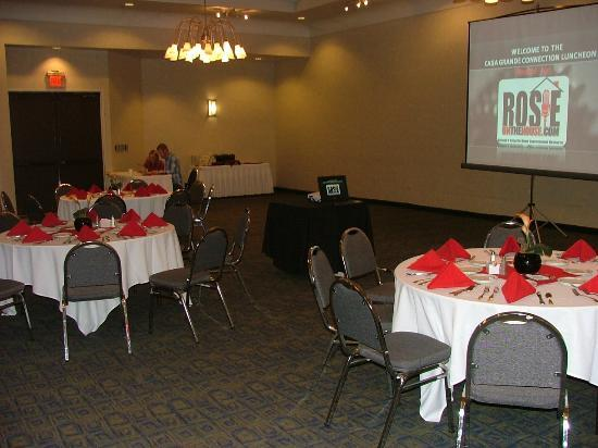Holiday Inn Casa Grande: Our conference room before the presentation