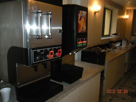 Midtown Inn Miami: JUGOS Y CAFE DEL DESAYUNO