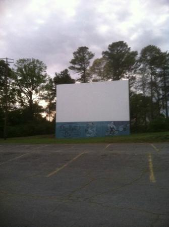 Starlight Six Drive-In: One of the six screens - 2 movies shown on each