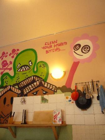 Schlafmeile Hostel: Kitchen
