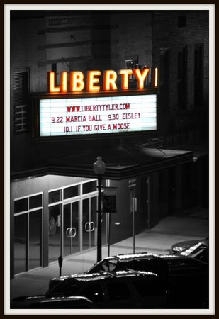 Liberty Hall: Liberty at night