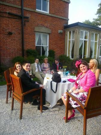 Bartle Hall Country Hotel: Hotel and Grounds on wedding day