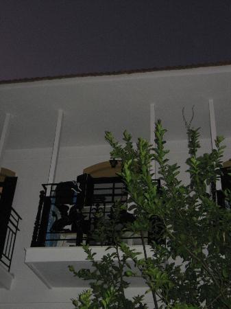 Pegasus: the balcony