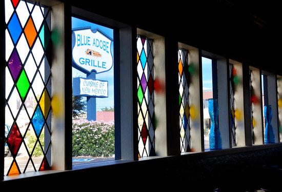 Blue Adobe Sante Fe Grille : The Original Blue Adobe Grille