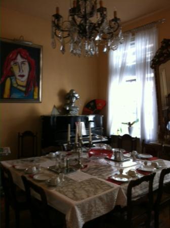 Galerie-Hotel Petersen : Breakfast Room