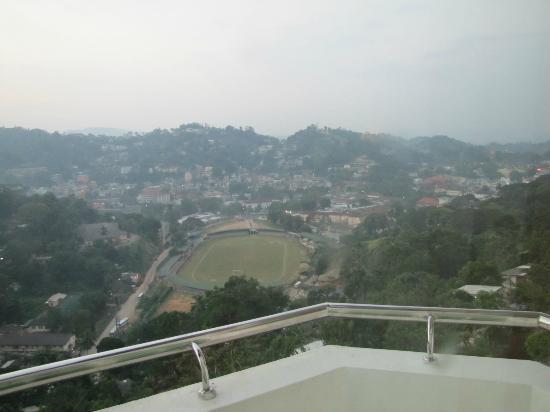 The Peak Residence: vista dalla camera