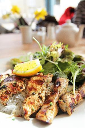 The Honey Pot: Char-grilled Lemon Thyme Chicken