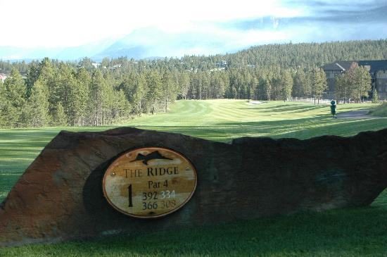 Copper Point Golf Club : #1 at The Ridge at Copper Point