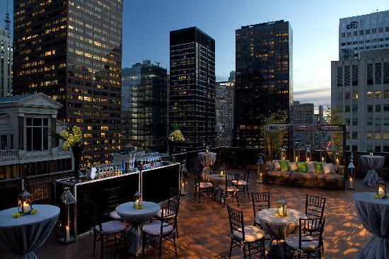 Salon De Ning Rooftop New York City Midtown Menu
